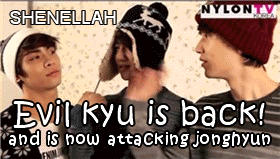 evil kyu is back by shenellah