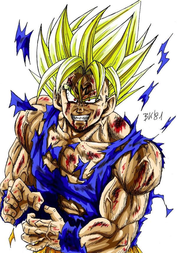 majin Goku by BK-81 on DeviantArt