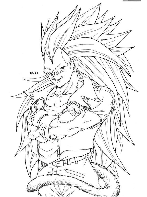 Desenhos para Colorir do Dragon Ball Z: Goku Imagens