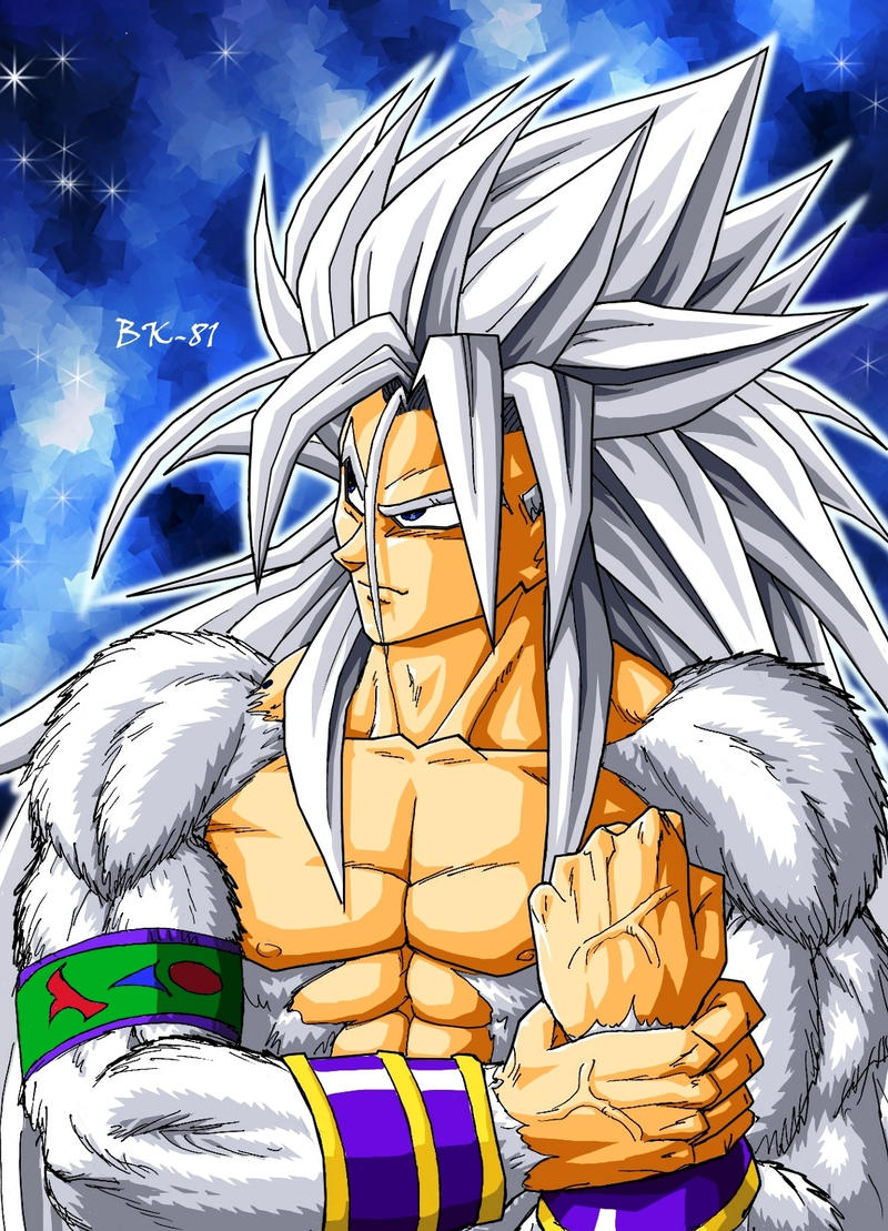 another Goku ssj5 by ~BK-81 on deviantART