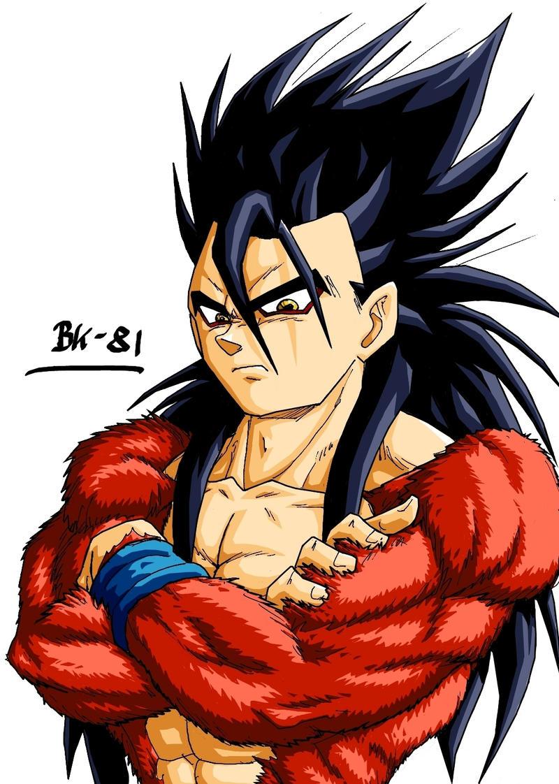 Gohan ssj4 v1 by bk 81 on deviantart - Dragon ball gohan super saiyan 4 ...