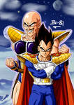 Vegeta and Nappa col