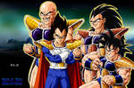 saiyans DBM wallpaper