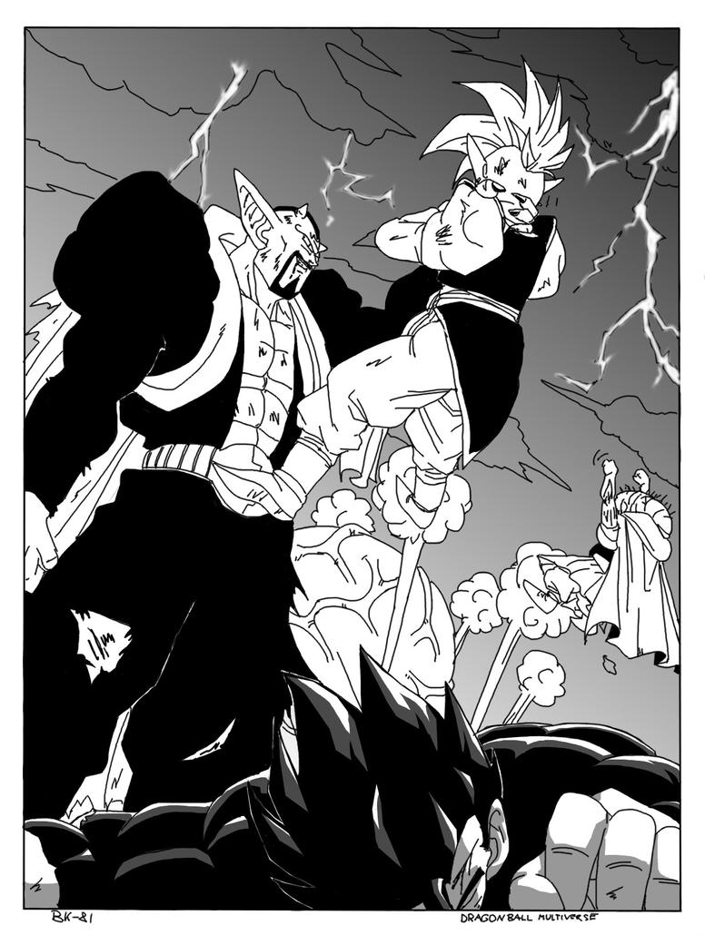 DBM universe 11 cover bw by BK-81