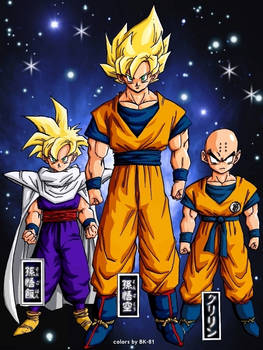 Gohan, Goku Krilin