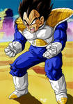 Vegeta Kaied up