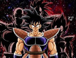 You ARE a saiyan, Son Goku by BK-81