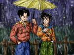 030: Under the rain