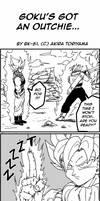 DB BK 5: Goku's outchie by BK-81
