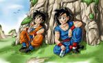 Son Gorin and Son Gocha