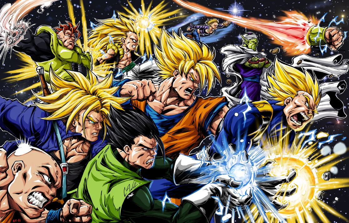 DBZ Heroes by c-dubbkitari5 V2 by BK-81