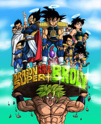 Hype for Broly colored
