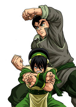 Bolin and Toph no BG