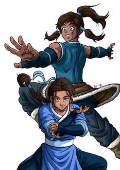 Team Avatar: Water no BG