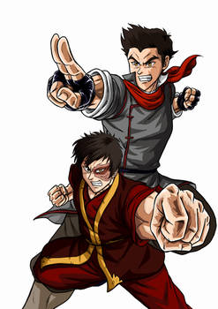Team Avatar: Fire no BG