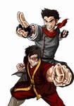 Team Avatar: Fire no BG
