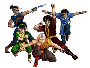 Open the stage for the Avatar Force! No BG