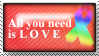 All you Need is Love by Aedem