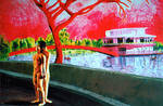nude gay couple painting naked men love male art by shharc