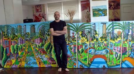 raphael perez naive paintings rafi peretz painter by shharc