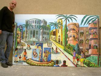 naif artists painters raphael perez naive art by shharc