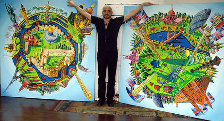 naife artist painter raphael perez painters art by shharc