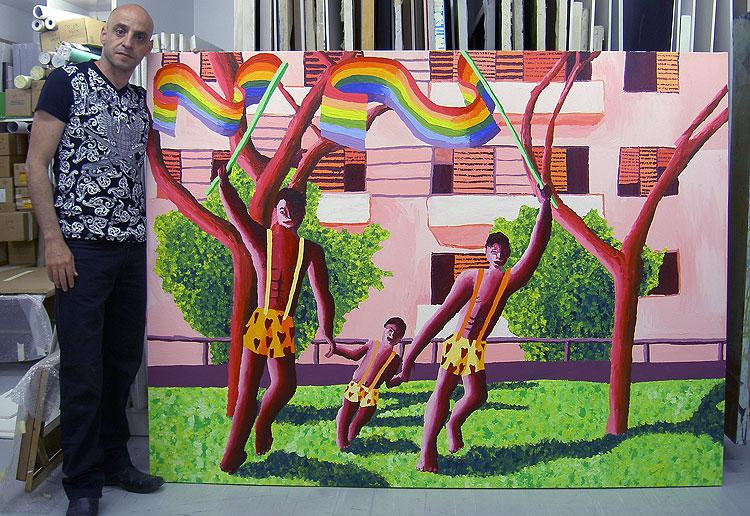 lgbt artist painters raphael perez artists painter by shharc
