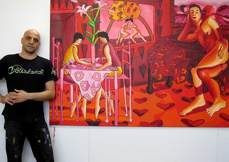 homoerotic artist painter raphael perez artists by shharc