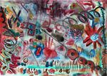 abstract painting colorful abstracts paintings art