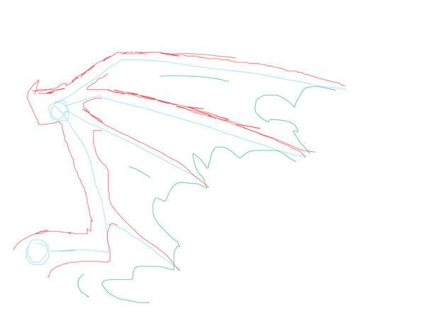 How to draw a dragon wing by xxFoXy-Chanxx on DeviantArt