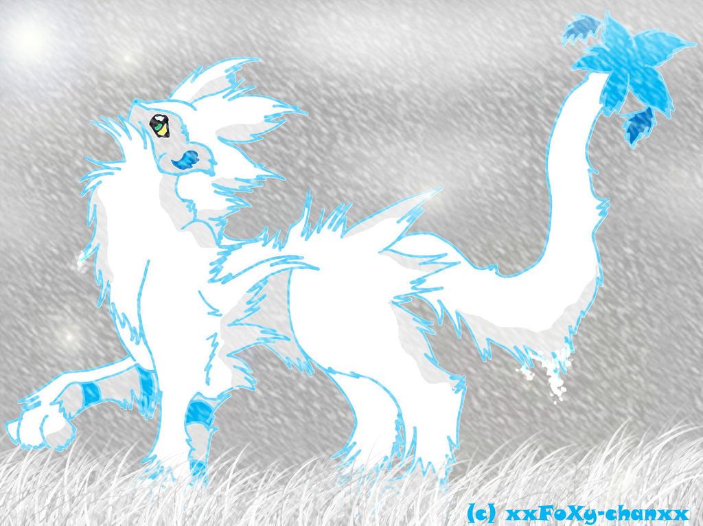 Snowy Luxray by xxFoXy-Chanxx