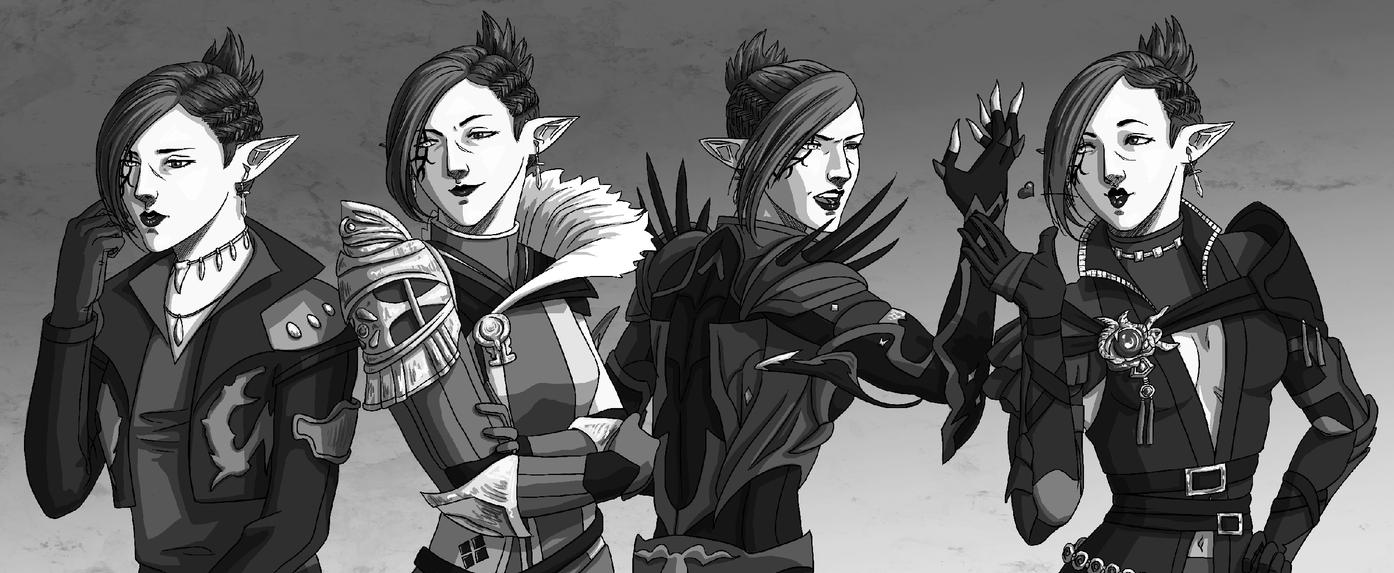The four faces by Skobeloff