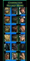 RECAST x 3!! TMNT X Jurassic World X HTTYD by BuffnutButthead