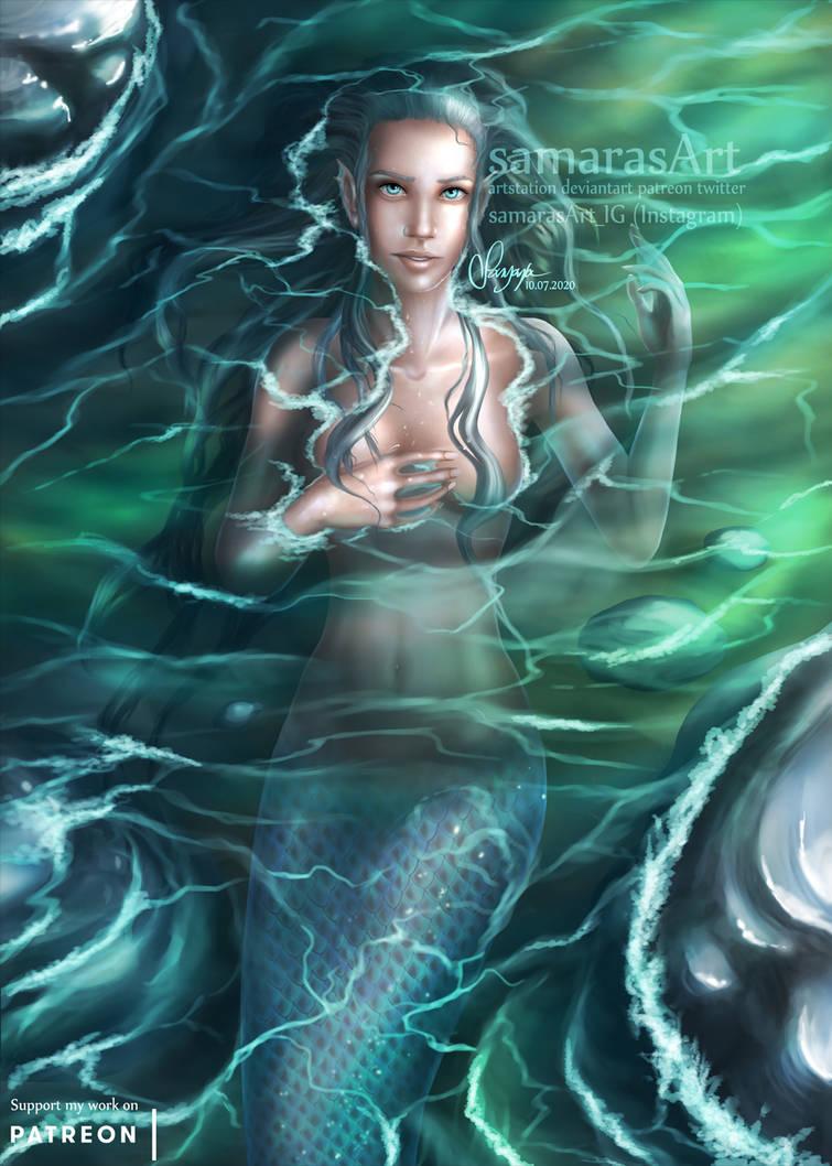 Atali - Shallows (SFW Mermaid Version)