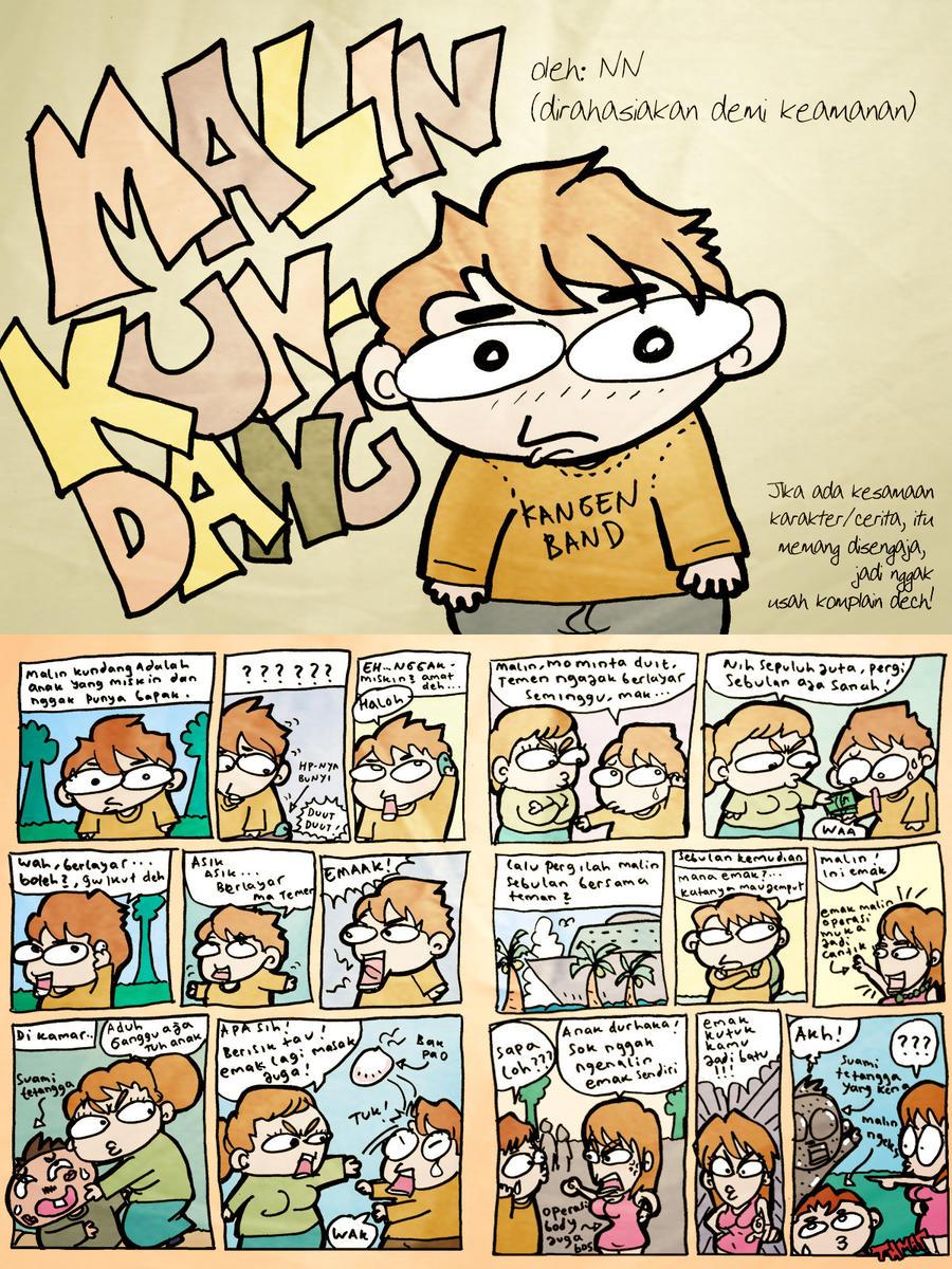 Malin Kundang Cartoon