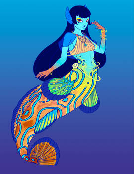 Mandarin Fish Mermaid