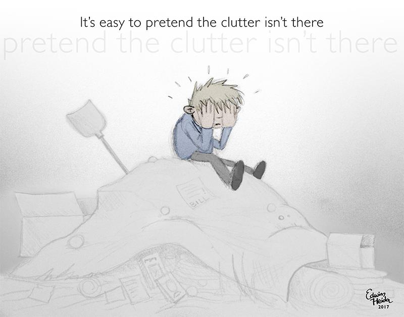 Clutter by Funnylookingfoetus