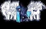 Hair addons base for pony by BaseAdopts - p2u by GlaciesPanda
