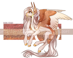 Demon Pegasus Pony - Adopt Auction Closed