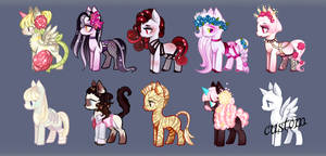 Pony Small adopt batch - Auction Closed by GlaciesPanda
