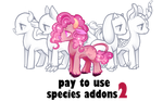 Species addons 2 base for pony by BaseAdopts - p2u