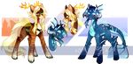 Princes of different kingdoms - Adopt Auction Open by GlaciesPanda