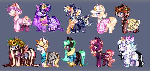 Pony adopt batch - Auction Closed