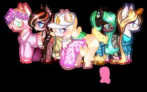 Cloth addons 2 for pony by BaseAdopts - p2u