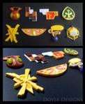 Kalos Pokemon Badges