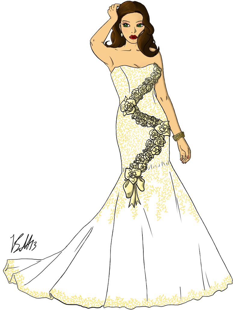 Wedding dress for oxfam by gatoishwary on deviantart for Oxfam wedding dress shop