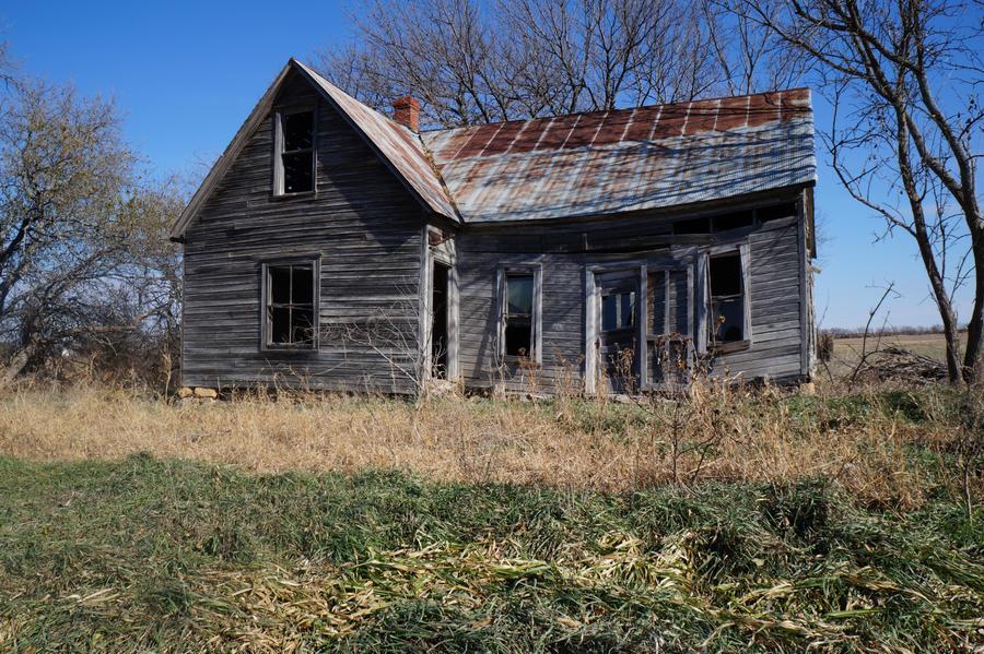 Old House 1:  Stock by DaniMyrick
