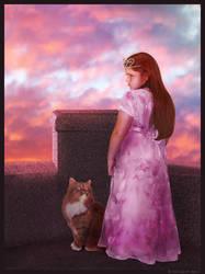 From Her Tower II by DaniMyrick