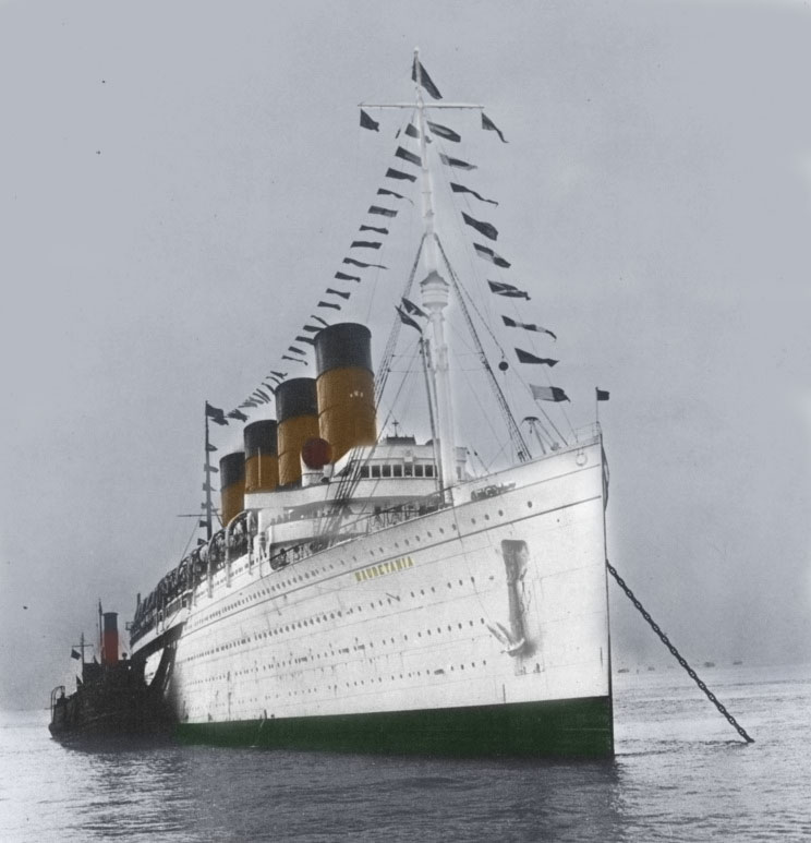 Rms Olympic: Remembering The RMS Mauretania By RMS-OLYMPIC On DeviantArt