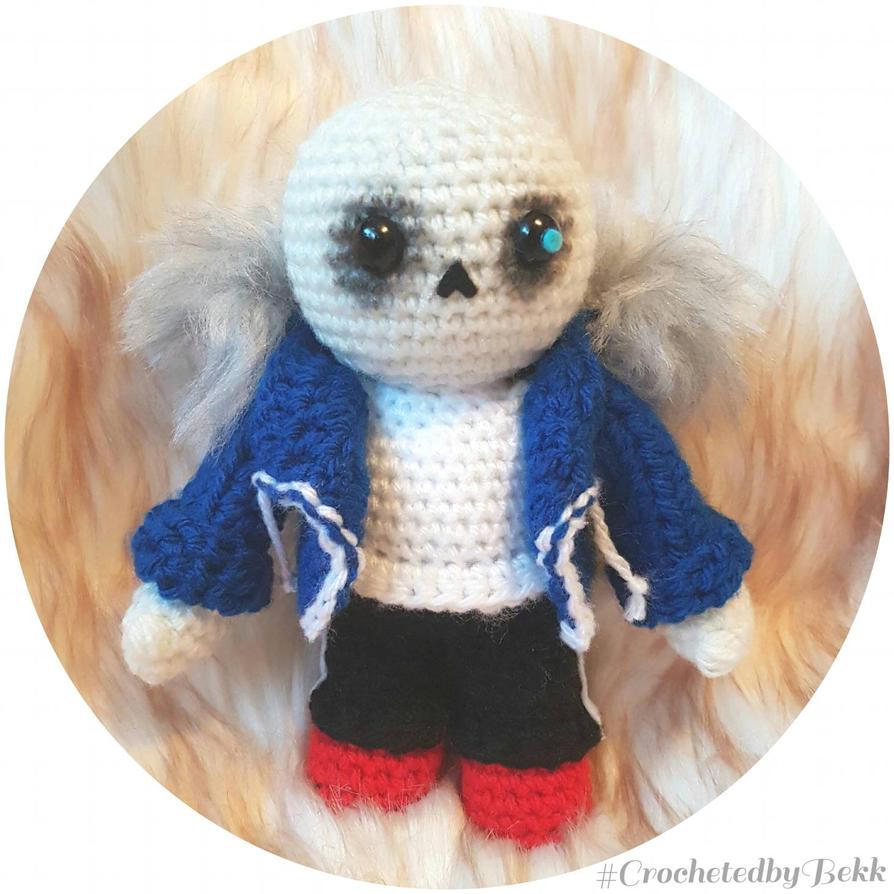 Sans - Undertale  by CrochetedbyBekk